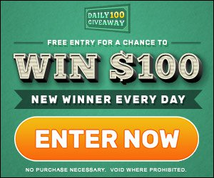 Win $100 - A new winner every day