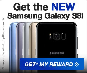 Get the Samsung Galaxy S8!