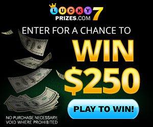 Amazing Lucky 7 Prizes