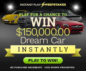 Enter for a chance to win the Car of your Dreams!