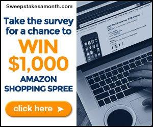 Enter to win a $1000 Amazon shopping spree!