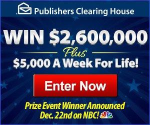 Win $2,600,000!